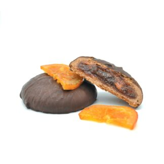 orange chocolate cookie