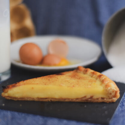milk pie galatopita